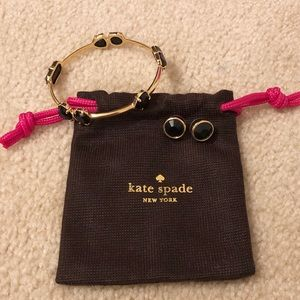 Kate Spade bangle & earring set
